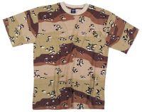 Армейская футболка US 6 colour desert