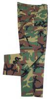 Армейские брюки US BDU 65% полиэстер 35% хлопок камуфляж woodland