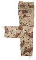 Мужские камуфляжные брюки BDU США шестицветный desert