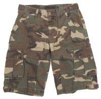 """Мужские шорты милитари """"Combo"""" камуфляж woodland"""