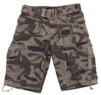 """Мужские шорты милитари """"Eagle1"""" серый камуфляж"""
