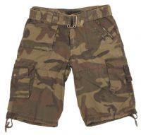 "Мужские шорты милитари ""Eagle1"" woodland"