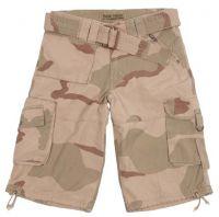 """Мужские шорты милитари """"Eagle1"""" трехцветный desert"""
