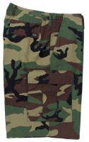 US BDU мужские шорты милитари с карманами карго