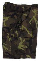 US BDU мужские шорты милитари Ripstop Typ 95 CZ camo