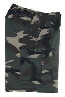 US BDU мужские шорты милитари Ripstop камуфляж woodland