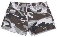 Женские мини-шорты в стиле милитари Ripstop browncamo-stonew