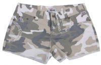 Женские мини-шорты в стиле милитари Ripstop urban-stonewashed