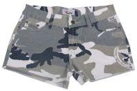 Женские мини-шорты в стиле милитари Ripstop skyblue-stonewashed
