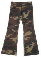 Женские брюки US BDU и жилетка камуфляж woodland