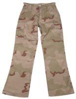 Женские брюки US BDU камуфляж 3 colour desert