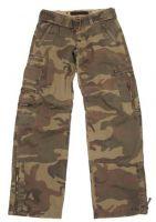 """Женские брюки Карго US """"Combat"""" камуфляж woodland-stonew"""