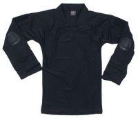 Мужская военная рубашка США со съемной защитой, черная