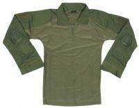 Мужская военная рубашка США со съемной защитой, оливковая