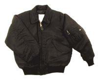 Лётная куртка США US CWU flight jacket, черная