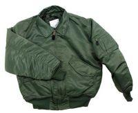 Лётная куртка США US CWU flight jacket, od green