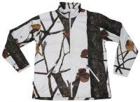 """Флисовая куртка """"Arber"""", камуфляж зимний охотник hunter-snow"""