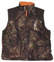 Двухсторонний охотничий жилет камуфляж hunter-brown