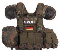 """Модульный жилет """"Combat"""" быстрое снятие камуфляж BW camo"""
