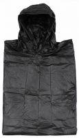 Дождевик-пончо, Винил, черный, размер: 200х127 см, 0,12 мм
