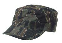Армейская кепка US BDU field cap Ripstop, камуфляж tiger stripe