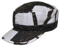 Армейская кепка US BDU field cap Ripstop, камуфляж снежный охотник