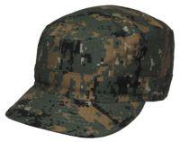 Армейская кепка US BDU field cap Ripstop, камуфляж digital woodland