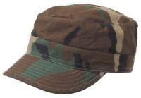Армейская кепка US BDU field cap Ripstop, вудленд