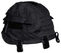 Чехол для каски с карманами, Helmetcover, черный