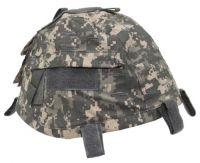 Чехол для каски с карманами, Helmetcover, камуфляж AT-digital
