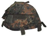 Чехол для каски с карманами, Helmetcover, BW камуфляж