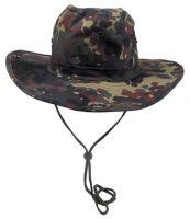 Шляпа Буша Bush hat, камуфляж бундесвер BW camo