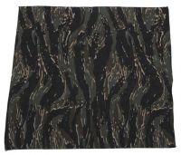 Бандана 55 x 55 см, хлопок, камуфляж tiger stripe