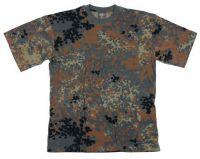 Детская футболка милитари с коротким рукавом, камуфляж BW camo