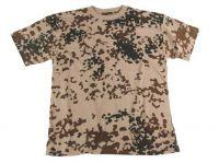 Детская футболка милитари с коротким рукавом, камуфляж BW tropical camo