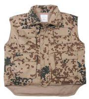 Детский жилет милитари Ranger vest, камуфляж bw tropical camo