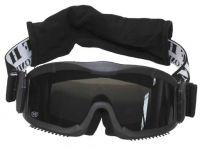 """Защитные очки, """"Гром люкс"""", 2 запасных стекла, черные"""