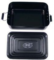 Металический водонепроницаемый ящик 17 x 11,5 x 5,5 см, черный