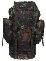 Военный рюкзак 65 литров, камуфляж бундервер