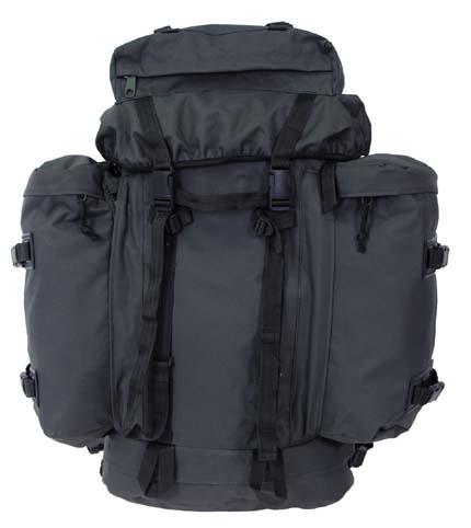 """Военный рюкзак  """"Mountain """" Германия 80 литров темно-оливковый MAX FUCHS."""