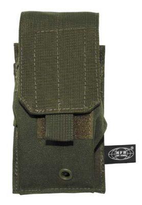 Подсумок MOLLE, оливковый - BUNDES.WARVAR.RU - недорогая военная одежда и снаряжение бундесвер из Германии.