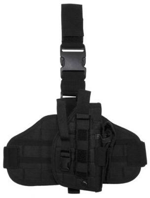 """Тактическая кобура  """"Molle """", для крепления на ноге и поясе, черная - Интернет-магазин BUNDES.WARVAR.RU"""