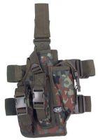 Тактическая кобура, для кремления на ноге и поясе, камуфляж бундесвер BW camo