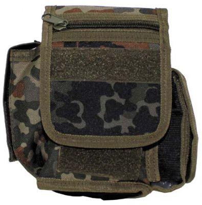Поясная сумка с 3 отделения, BW камуфляж.