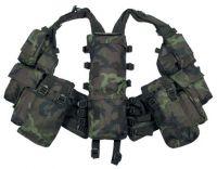 Тактический жилет с различными карманами, камуфляж CZ camo