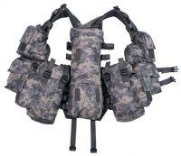 Тактический жилет с различными карманами, цифровой камуфляж AT digital