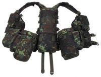Тактический жилет с различными карманами, камуфляж BW camo