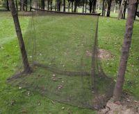 Противомоскитная сетка-палатка 2x1,5x1 м, темно-оливковая