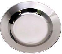 Глубокая тарелка из нержавеющей стали, 22 см