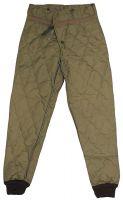 Нижние брюки Чехия/Словакия, M85, защита от холода, оливковый